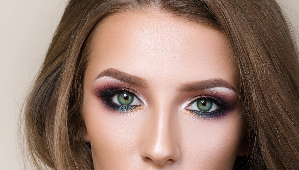 smokey eyes per occhi verdi