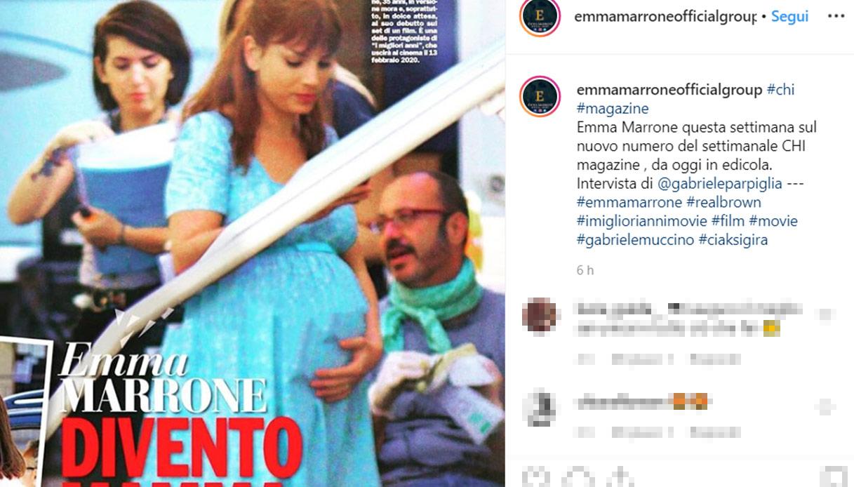 Emma Marrone incinta