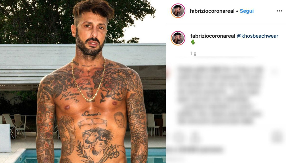 Fabrizio Corona Instagram