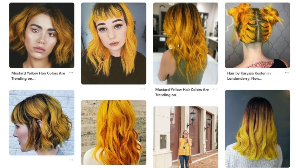 A chi stanno bene i capelli color mustard yellow