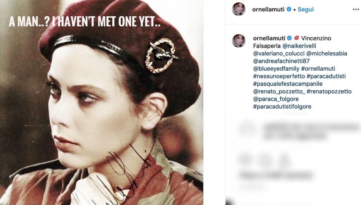 Ornella Muti Instagram