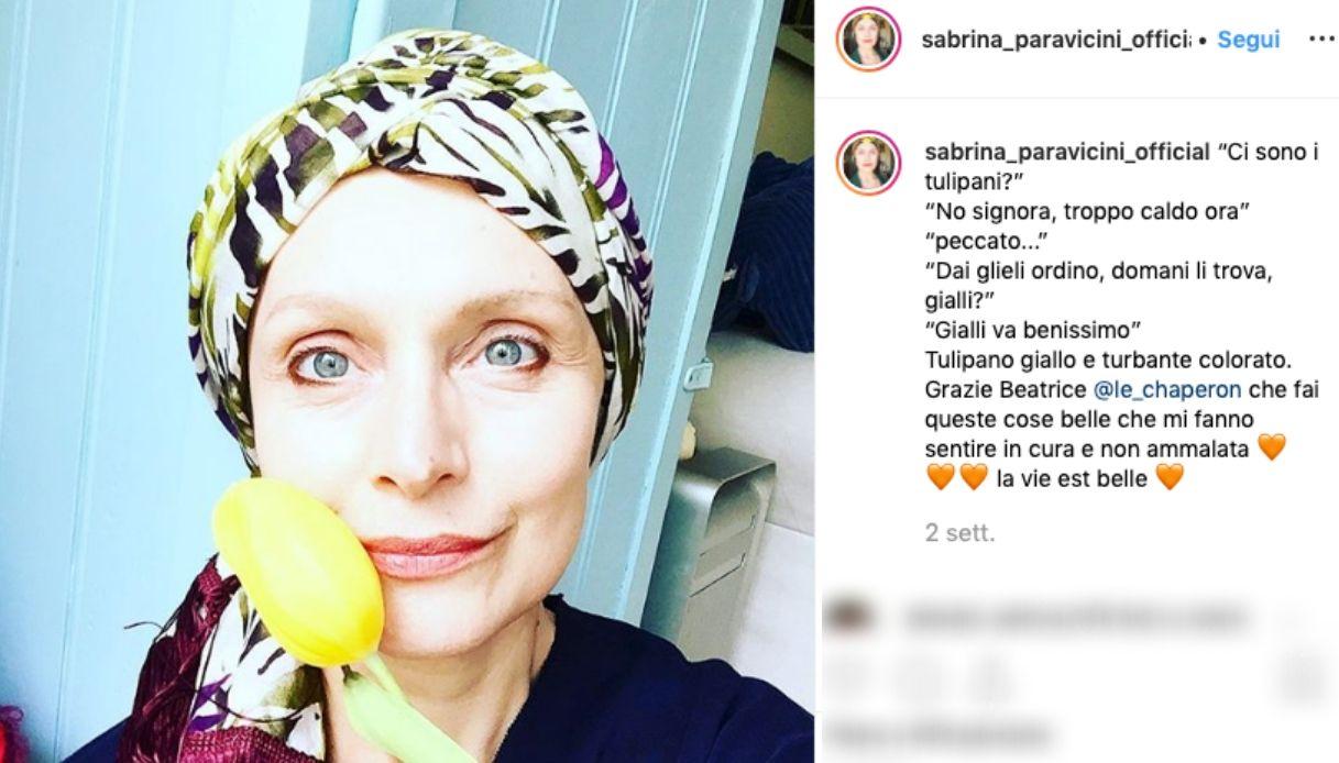 Sabrina Paravicini, la sua lotta contro il cancro al seno e le critiche