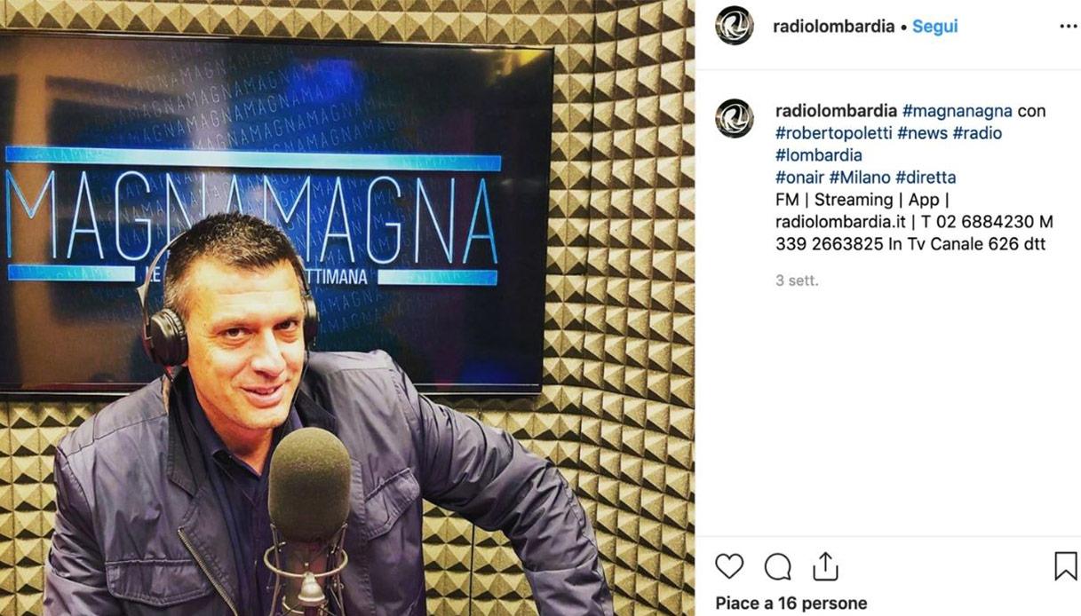 Roberto Poletti Instagram