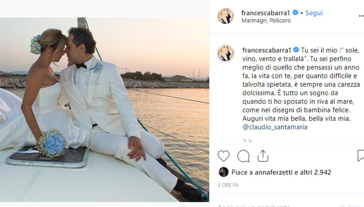 Francesca Barra Claudio Santamaria