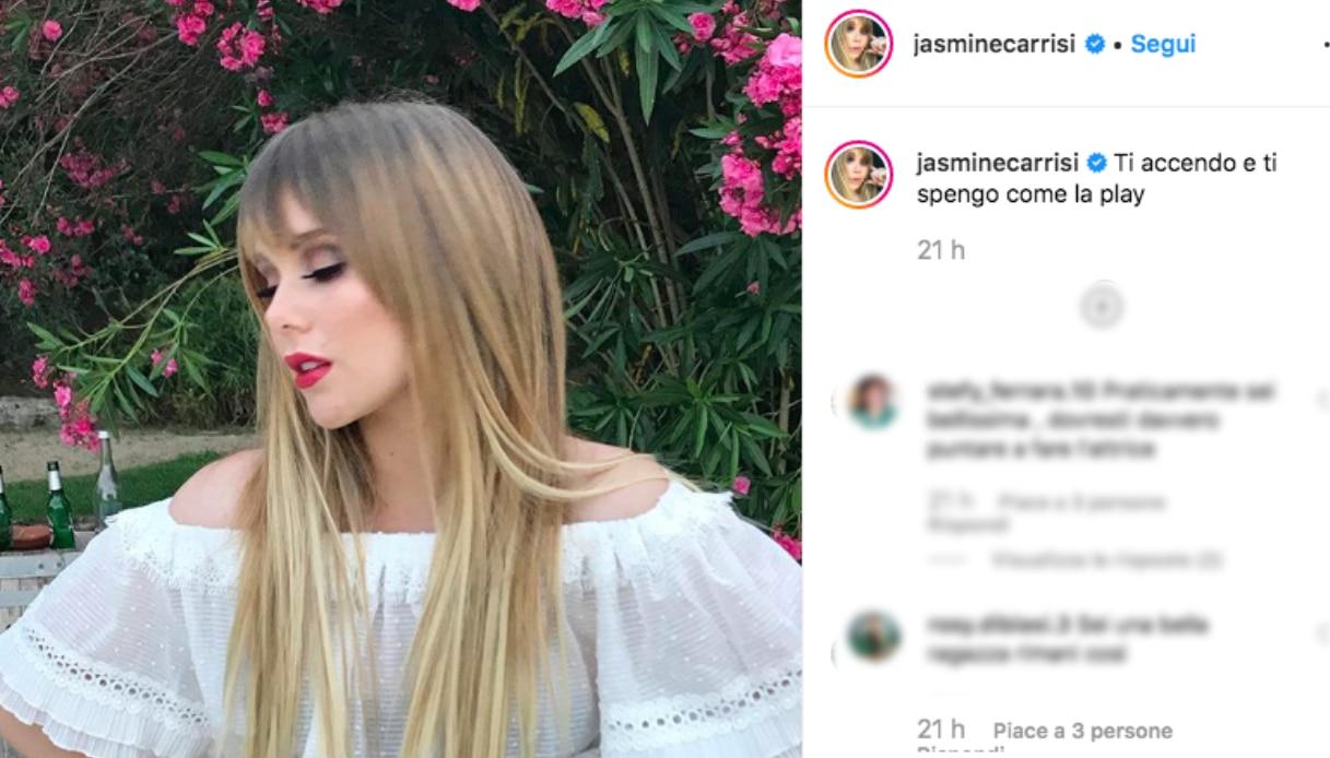 Jasmine Carrisi Instagram