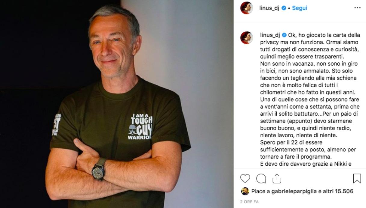 Linus Instagram
