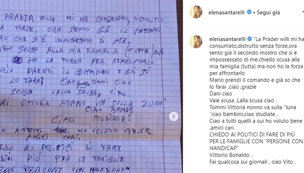 santarelli lettera zio