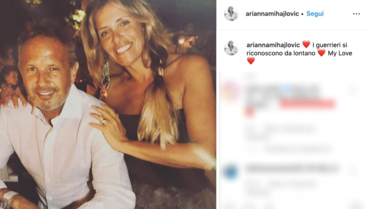 Ariana Mihajlovic post Instagram