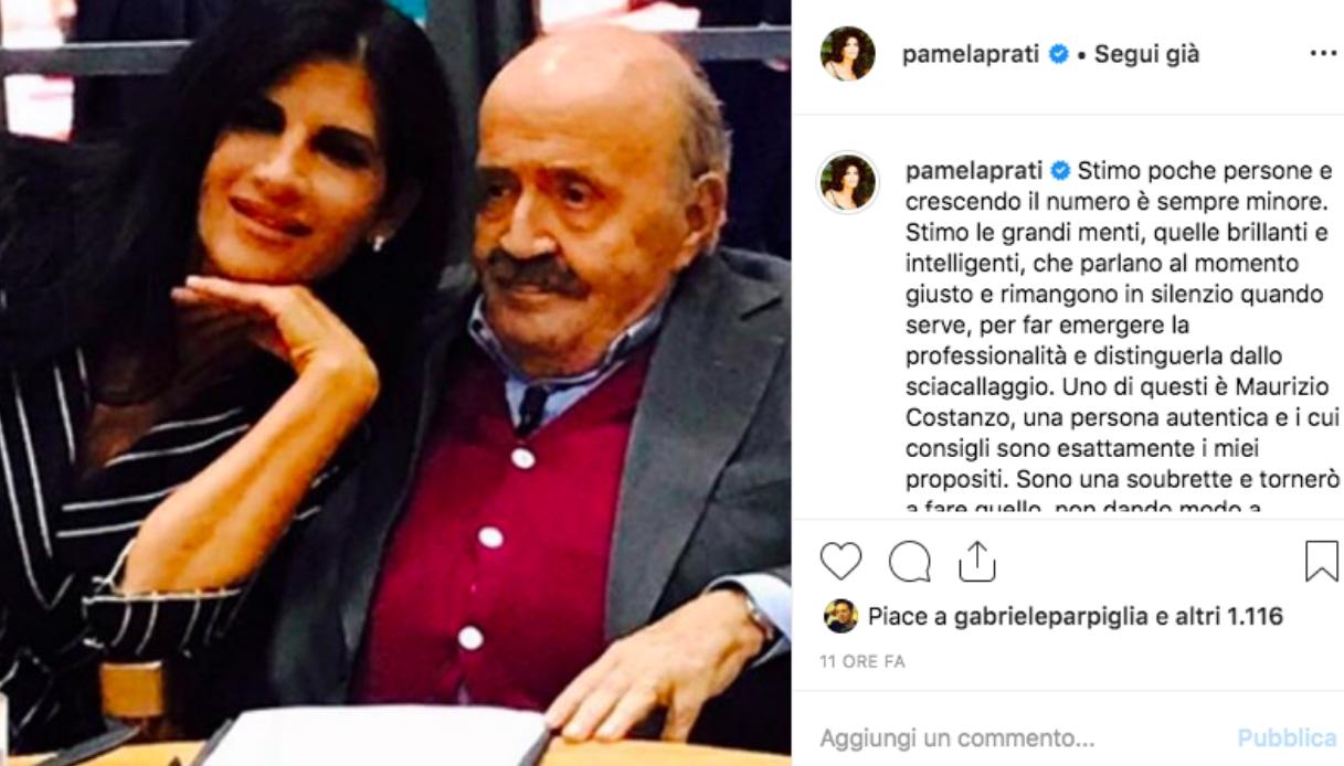Il post di Pamela Prati Instagram
