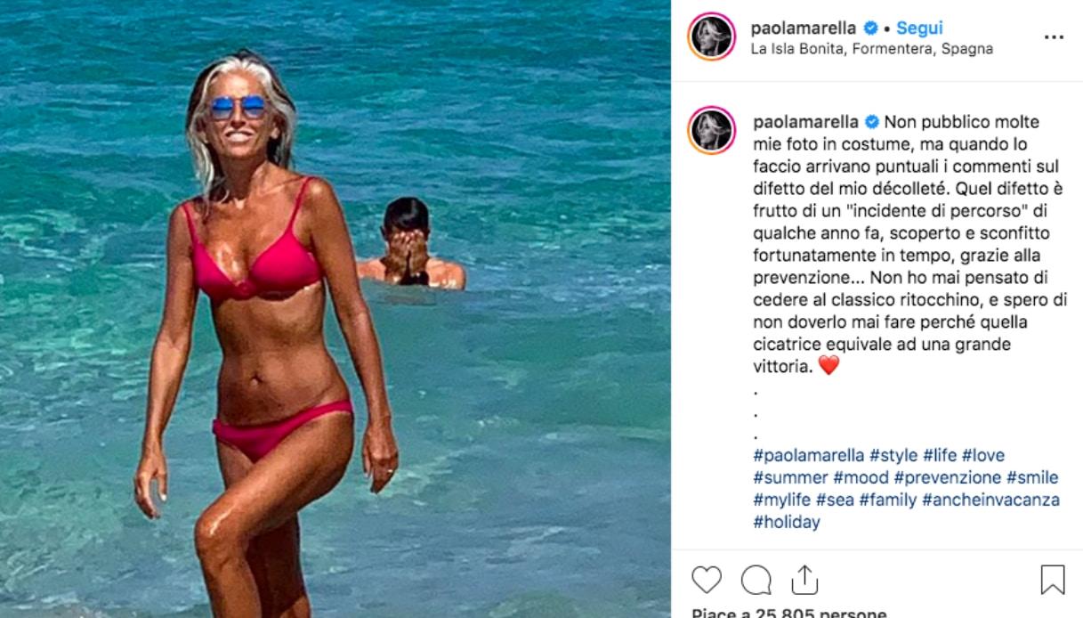 Il post di Paola Marella su Instagram