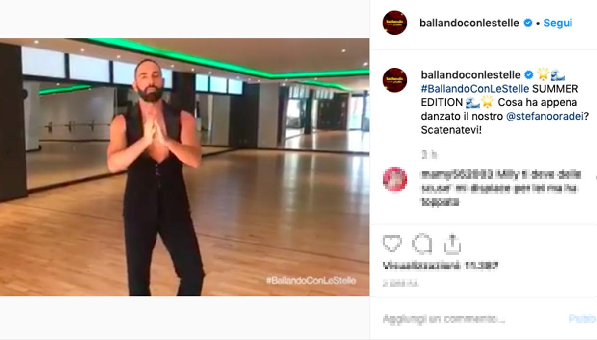 Ballando, Oradei dimentica Veera e torna da Milly Carlucci