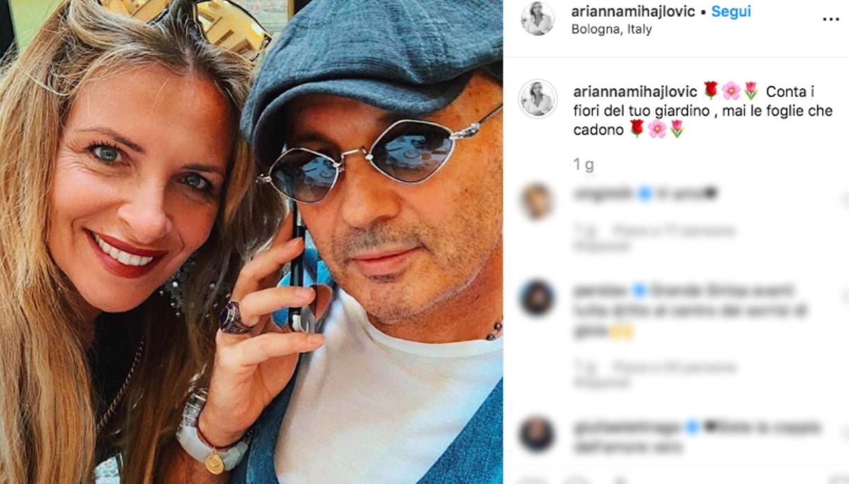Sinisa Mihajlovic e Arianna Rapaccioni Instagram
