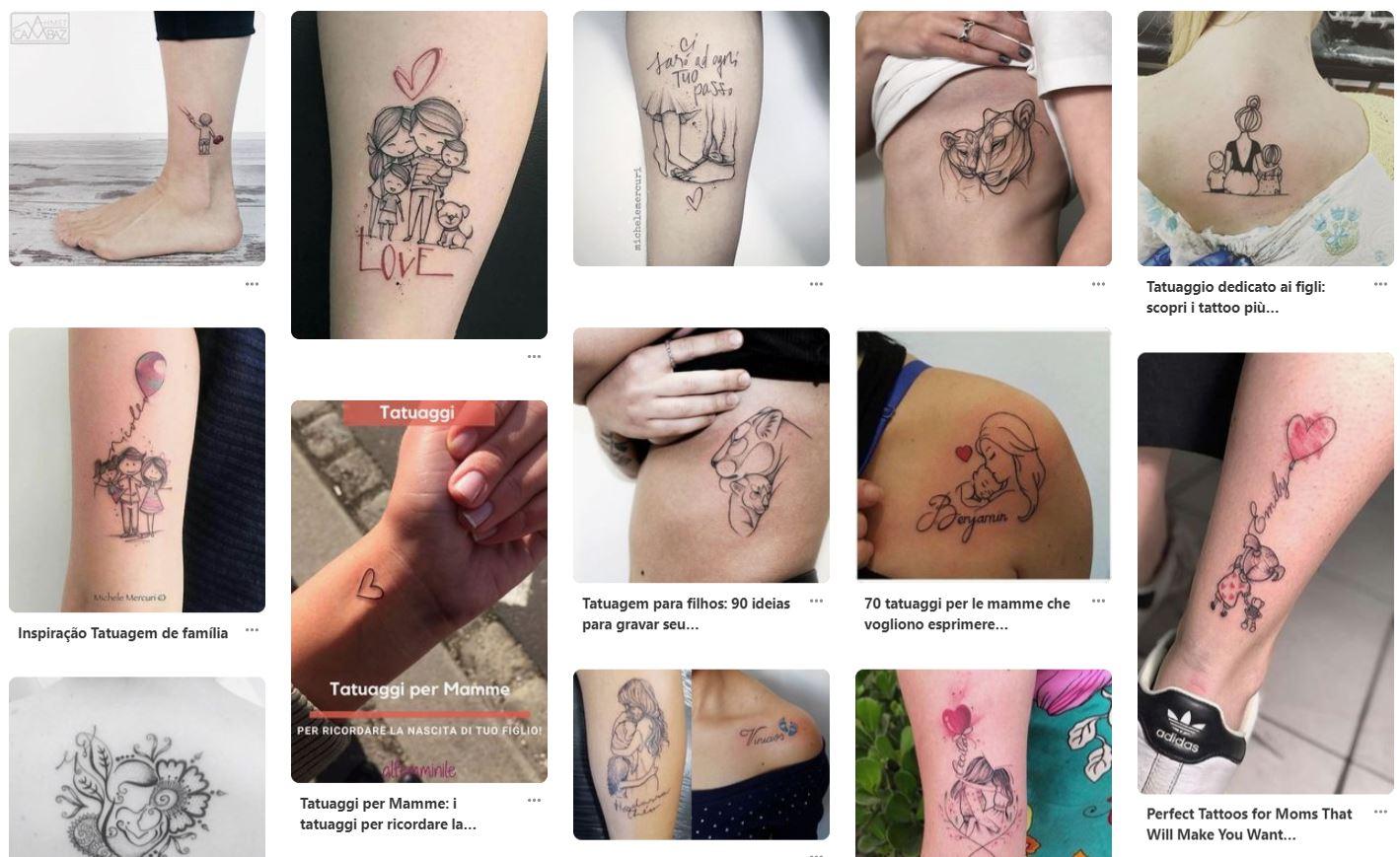 Idee per tatuaggi belli da dedicare ai figli