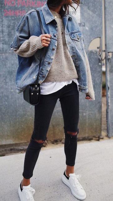 La giacca in jeans: il capo da avere per la mezza stagione