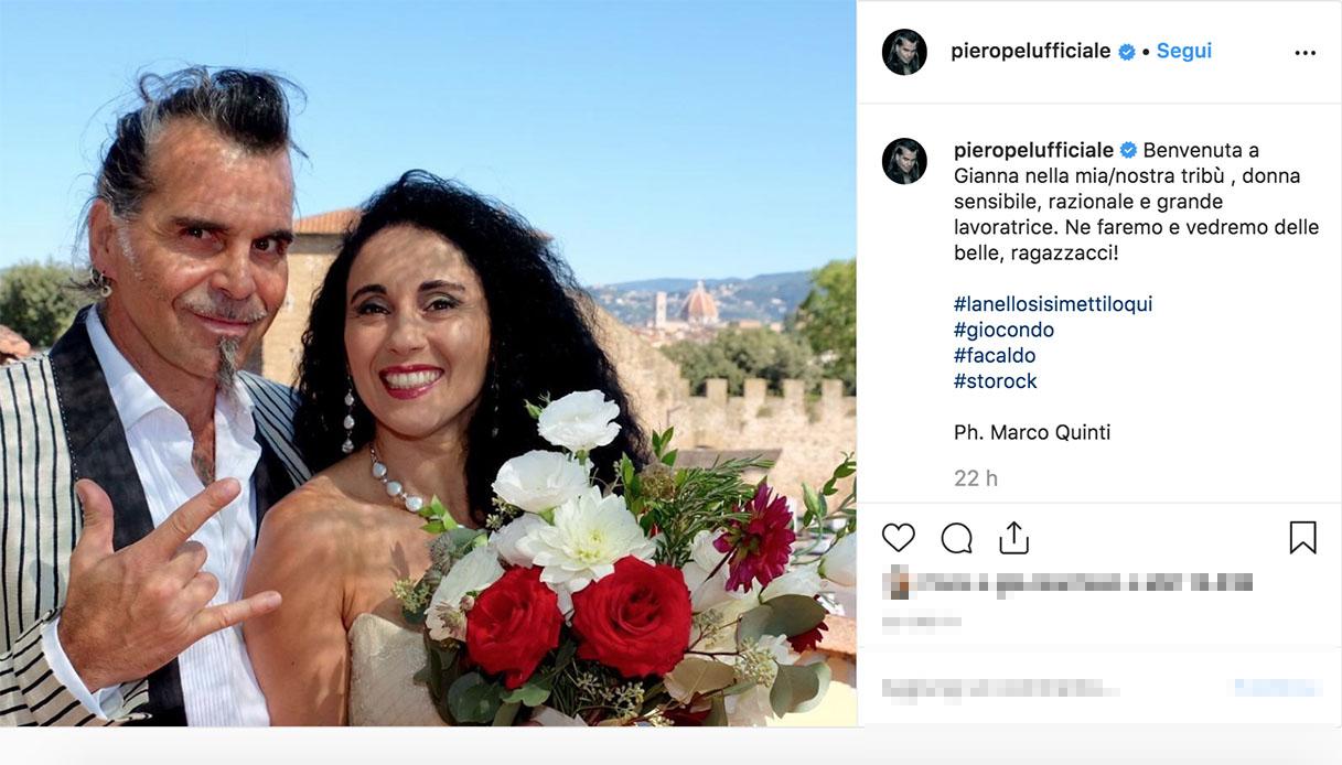 Gianna Fratta moglie di Piero Pelù