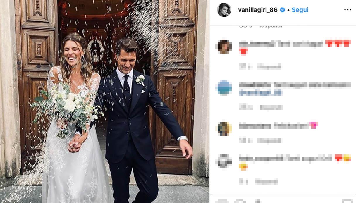 Matrimonio Cristina Chiabotto