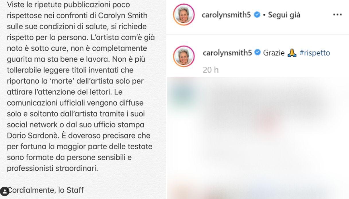carolyn smith instagram