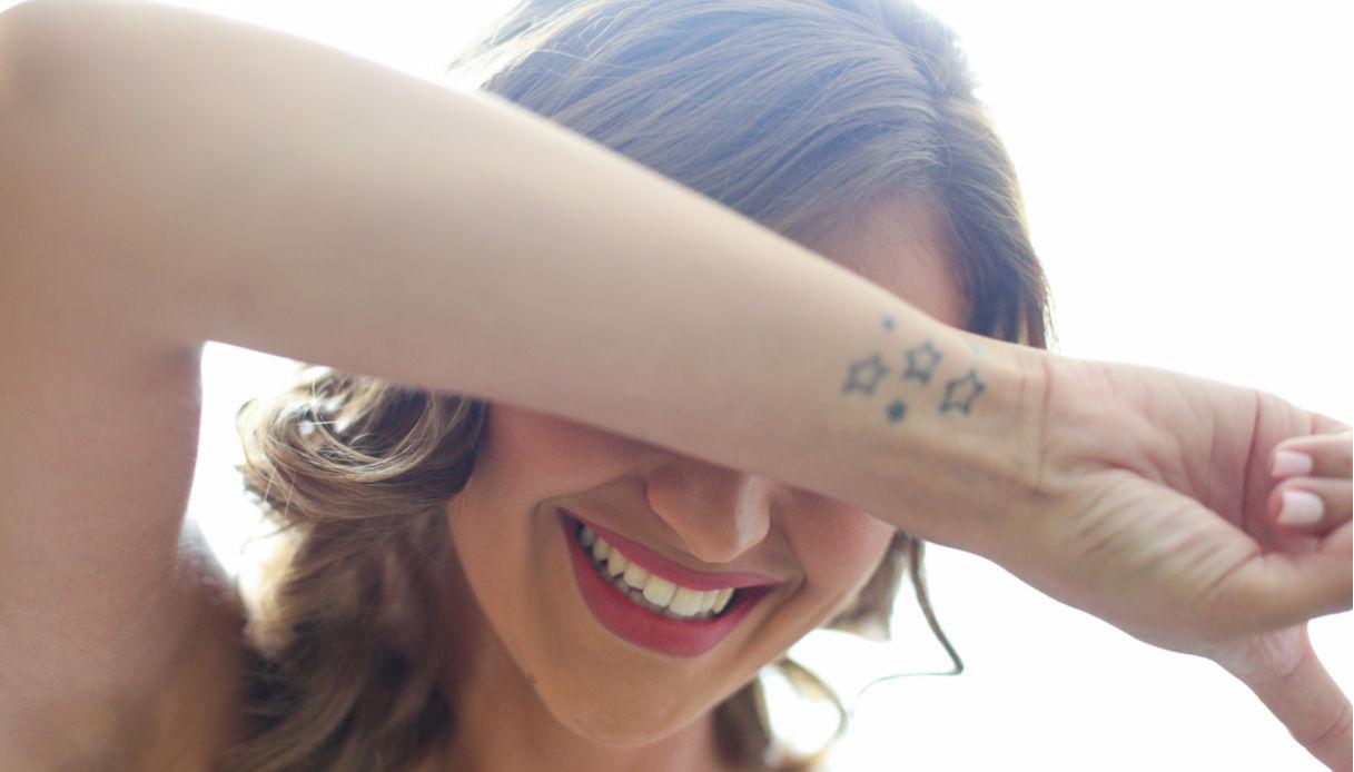 Tatuaggio con le stelle