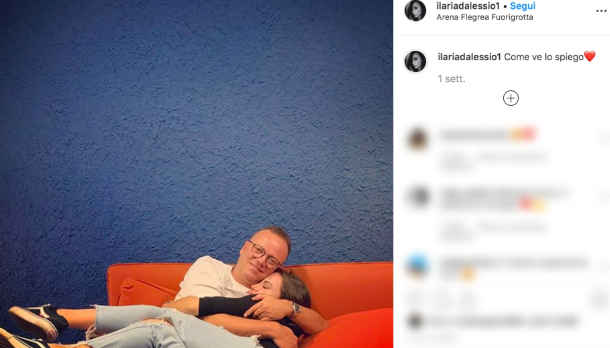Ilaria e Gigi D'Alessio Instagram