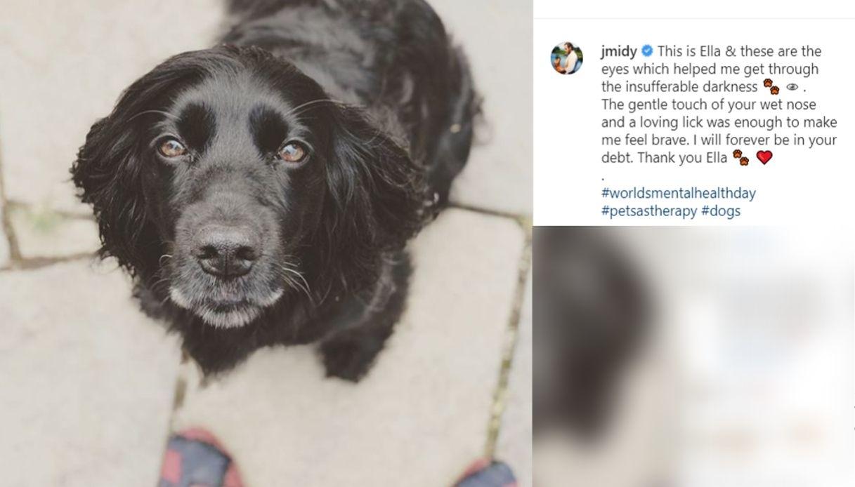 James Middleton ha ringraziato il suo cane Ella per come l'ha aiutato ad uscire dalla depressione