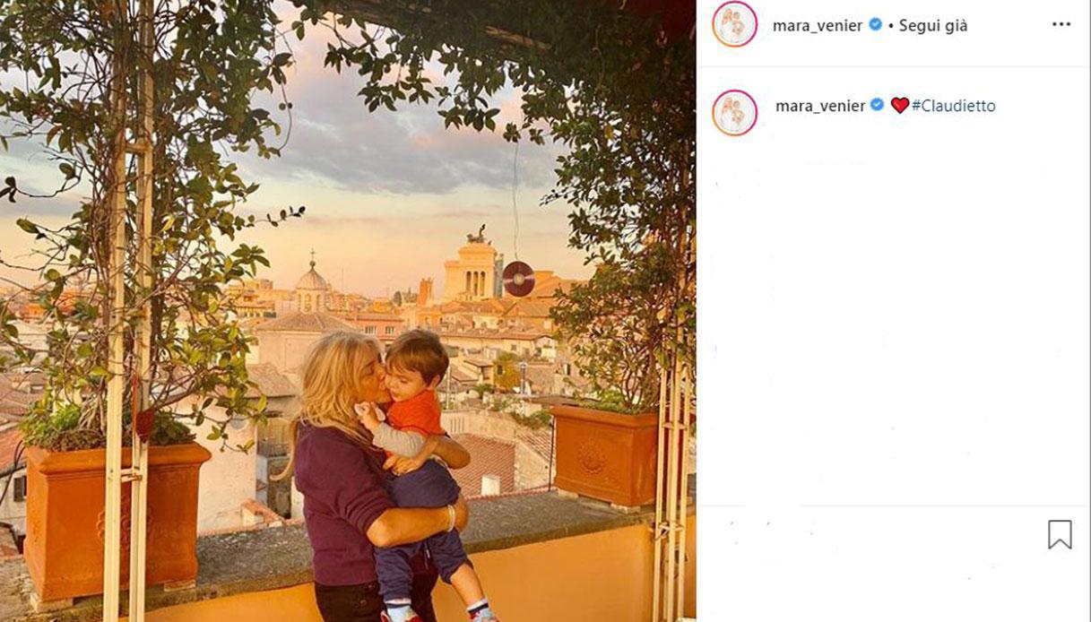 mara venier nonna Instagram