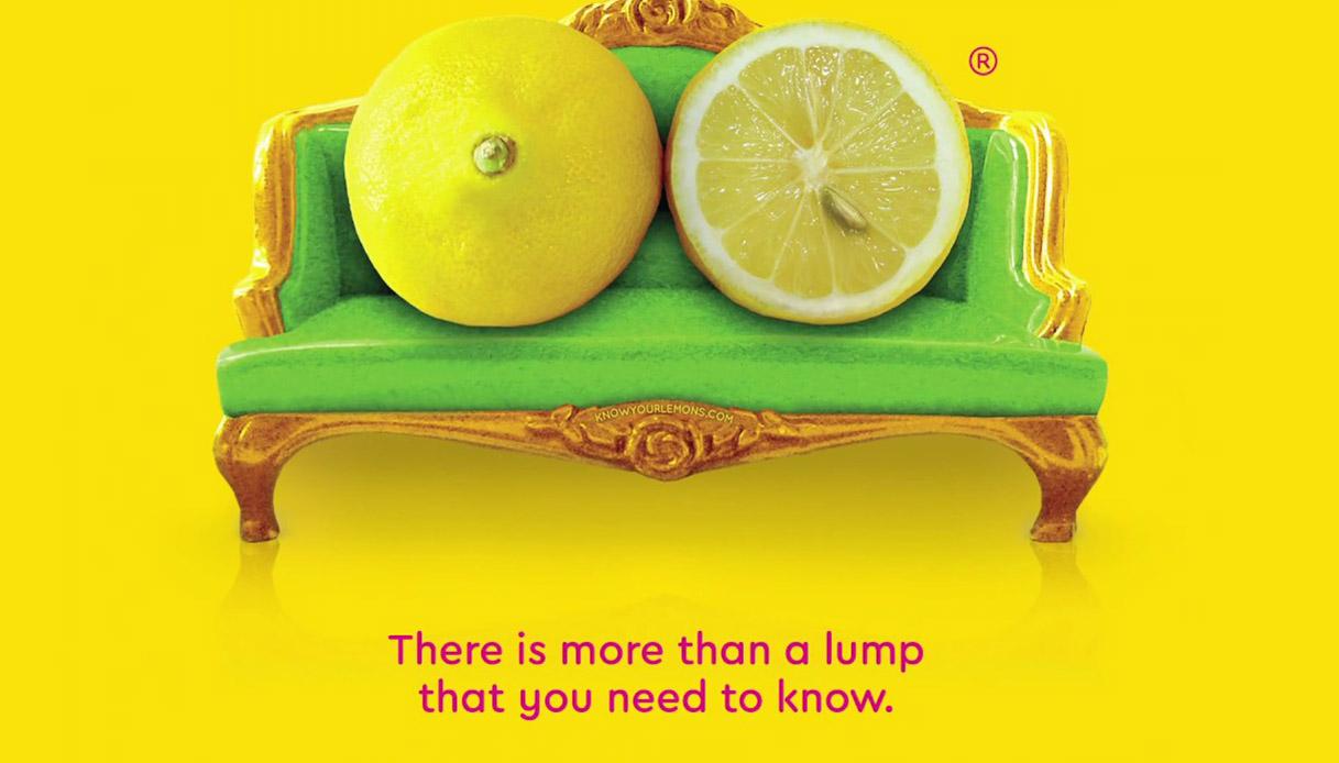 Cancro al seno: la campagna che usa i limoni per imparare a riconoscere i sintomi