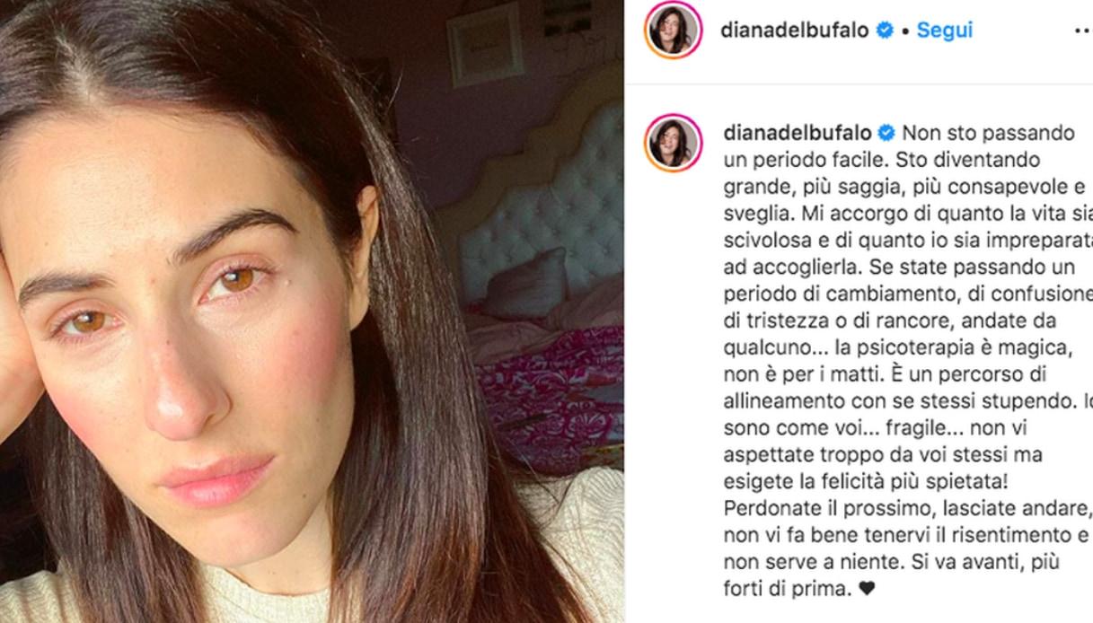Diana Del Bufalo Instagram