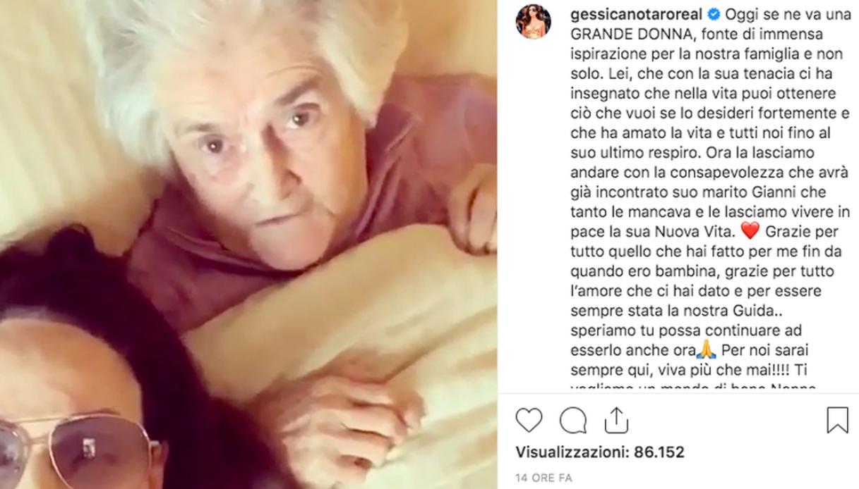 Gessica Notaro Instagram