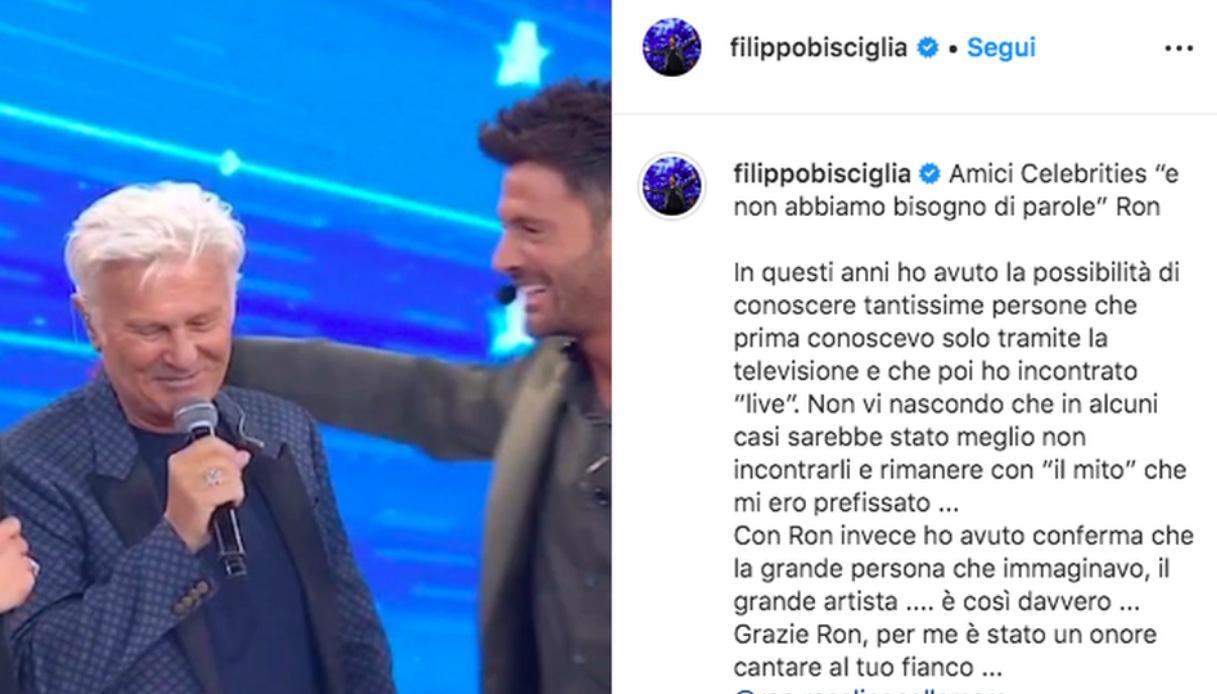 Il post di Filippo Bisciglia Instagram