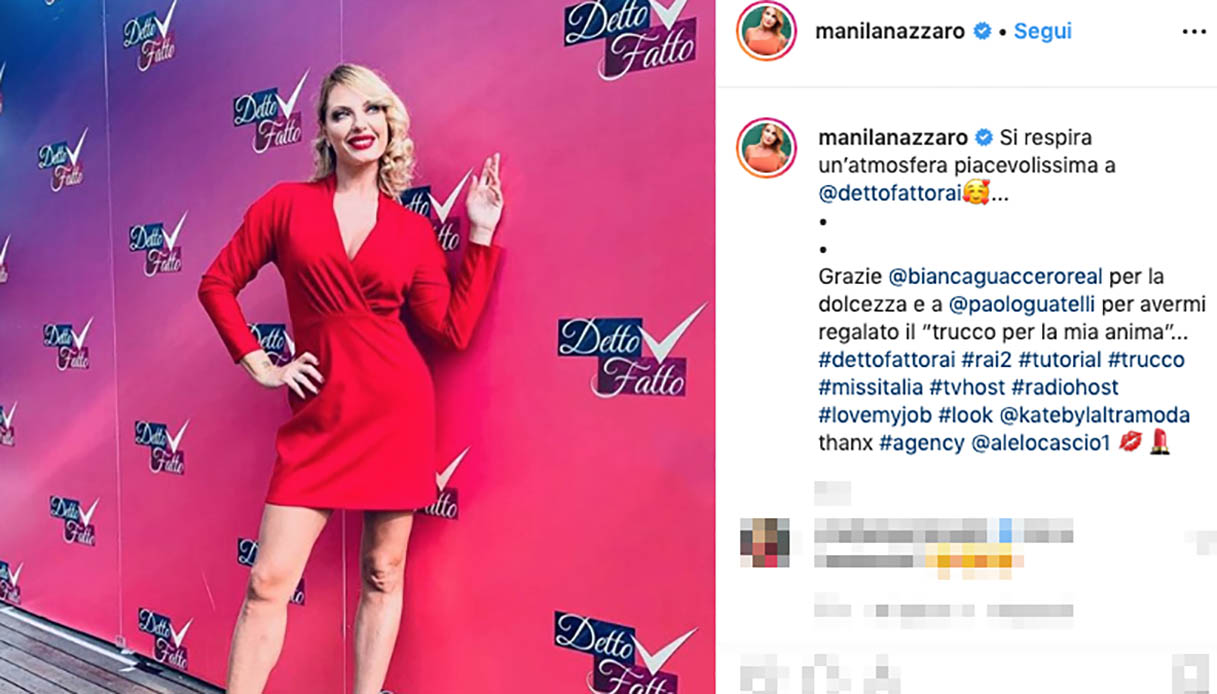 Detto Fatto, Bianca Guaccero incontra Manila Nazzaro. E fa luce sulla lite con Adriana Volpe