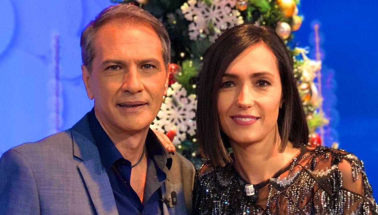 Lorenzo Crespi con Caterina Balivo a Vieni da Me