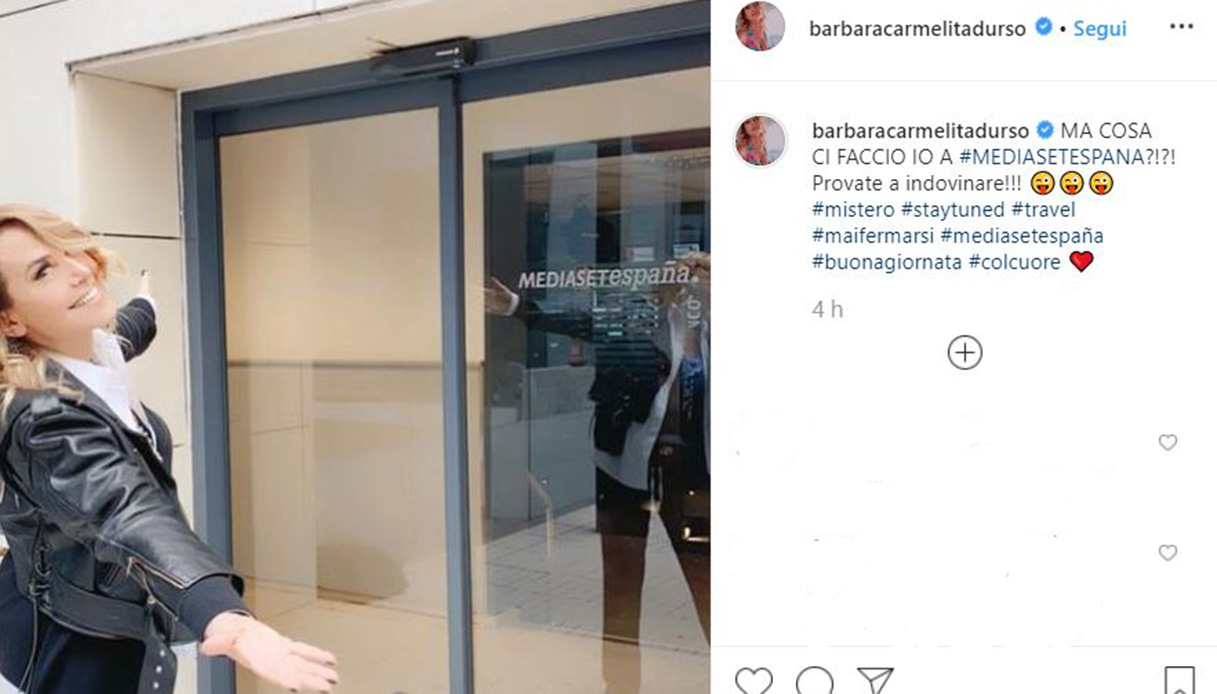 Barbara D'Urso Spagna