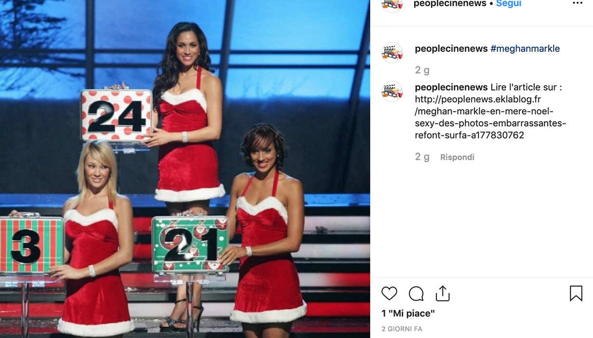 Meghan Markle Instagram