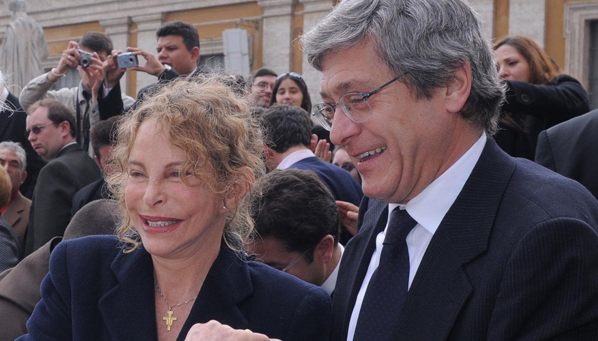 Roberto Bernabei e Sydne Rome
