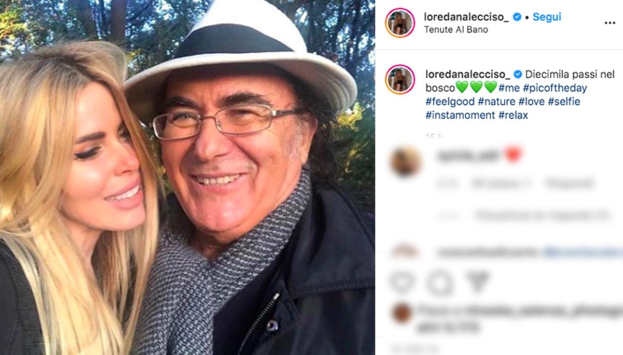 Al Bano Carrisi e Loredana Lecciso Instagram