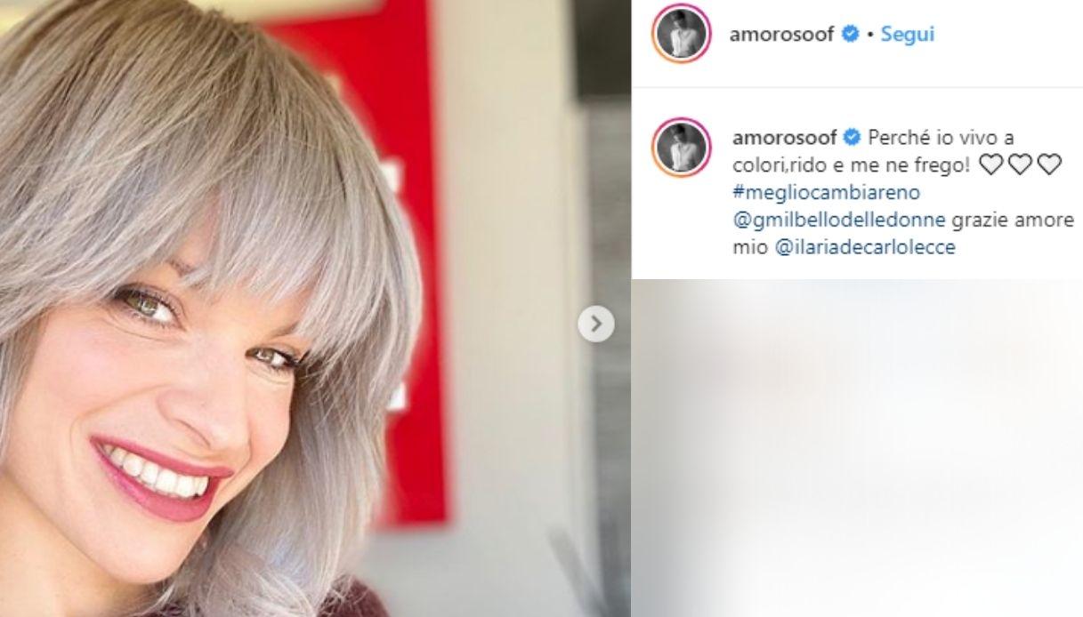Alessandra Amoroso risponde alle indiscrezioni sulla crisi con il fidanzato cambiando look