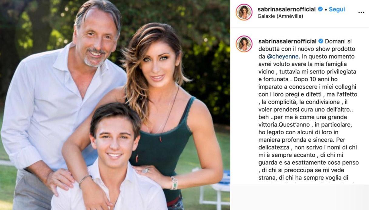 Enrico Monti marito di Sabrina Salerno Instagram