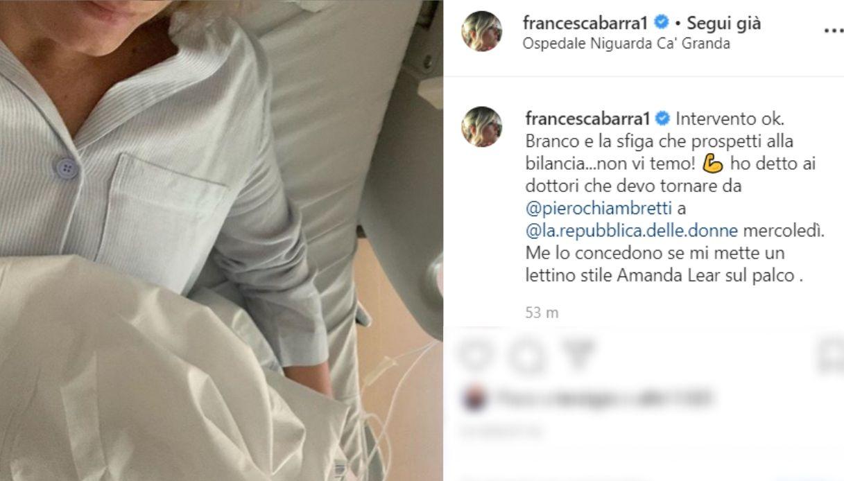 Francesca Barra fonte Instagram
