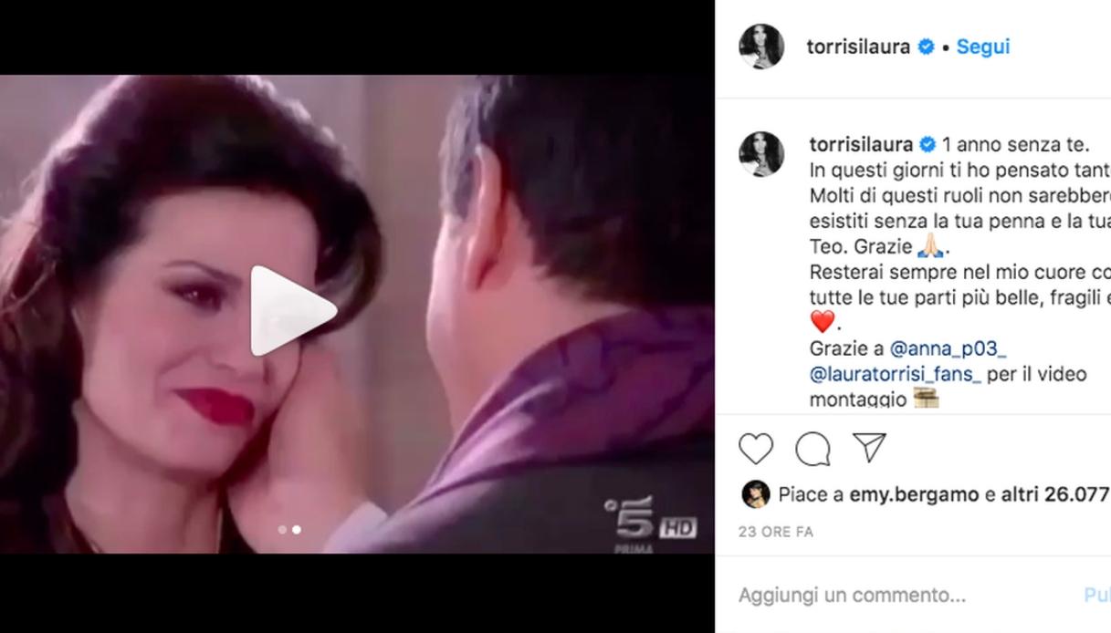 Il messaggio di Laura Torrisi su Instagram