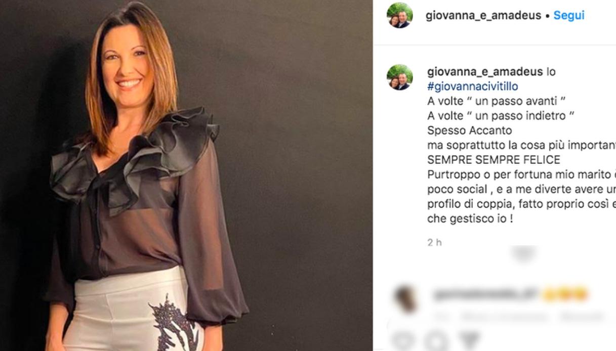 Il post di Giovanna Civitillo Instagram