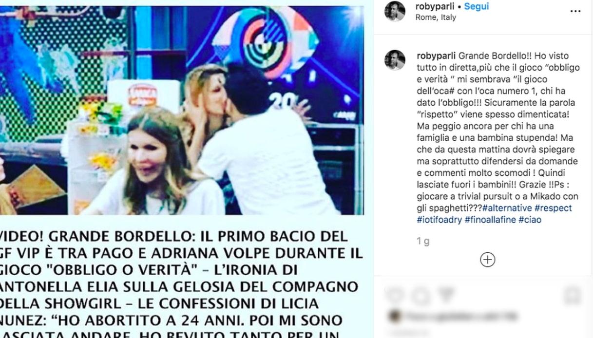 Il post di Roberto Parli Instagram