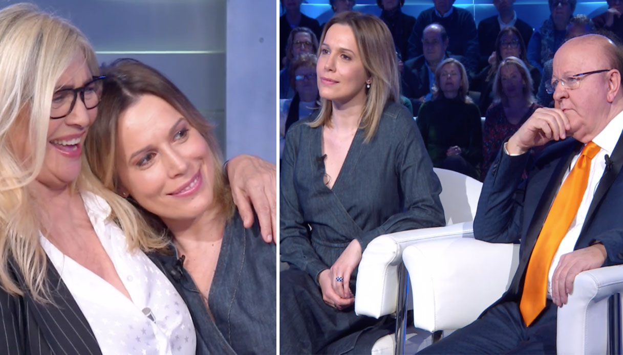 Irene Fornaciari e Massimo Boldi