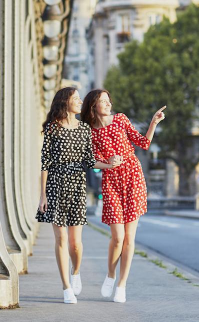 Come abbinare i pois: idee di look