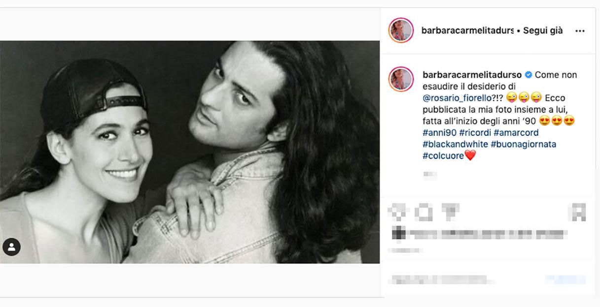 Il post di Barbara D'Urso