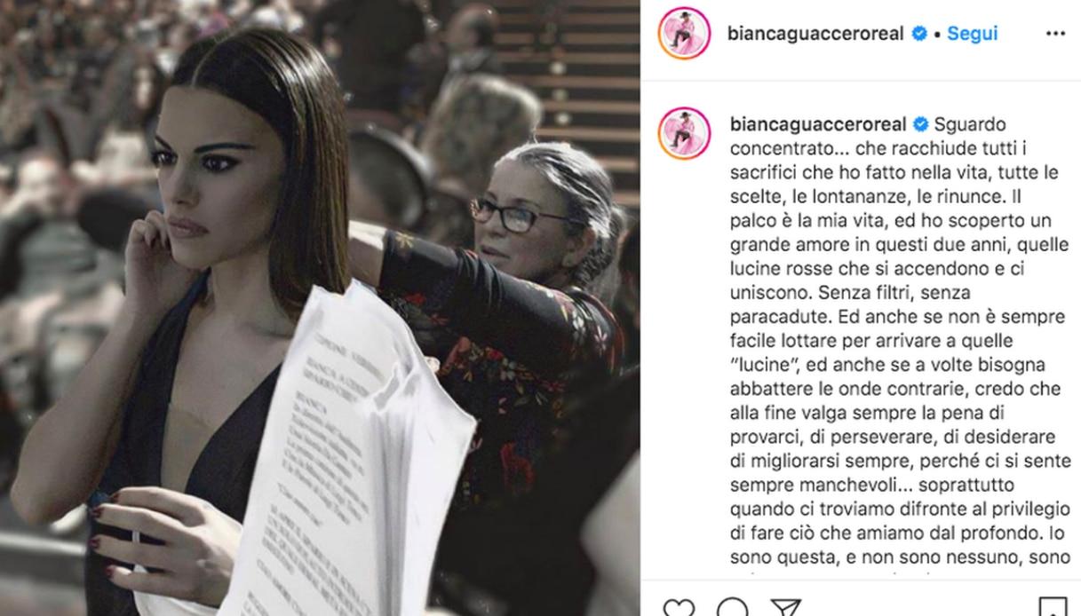 Bianca Guaccero Instagram