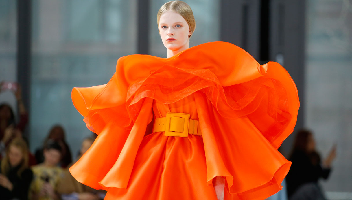 New York Fashion Week - la sfilata di Carolina Herrera. (Photo by John Lamparski/Getty Images)