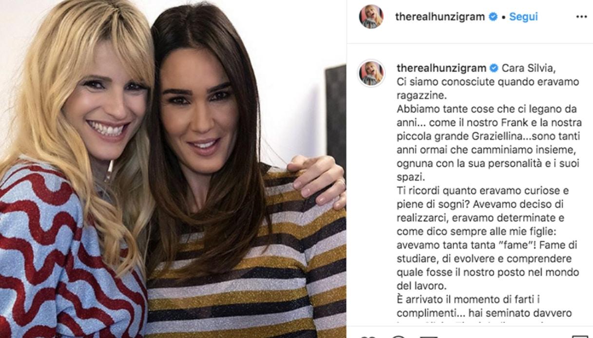 Michelle Hunziker e Silvia Toffanin Instagram