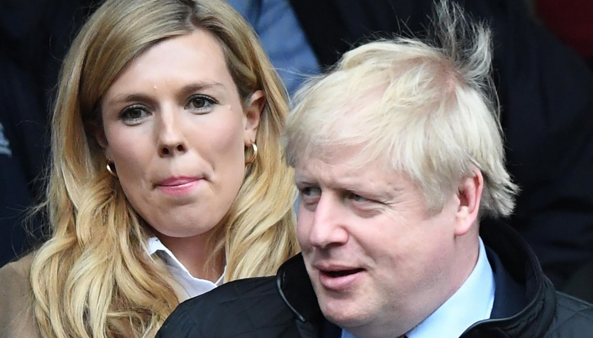 Carrie Symonds, la compagna di Boris Johnson