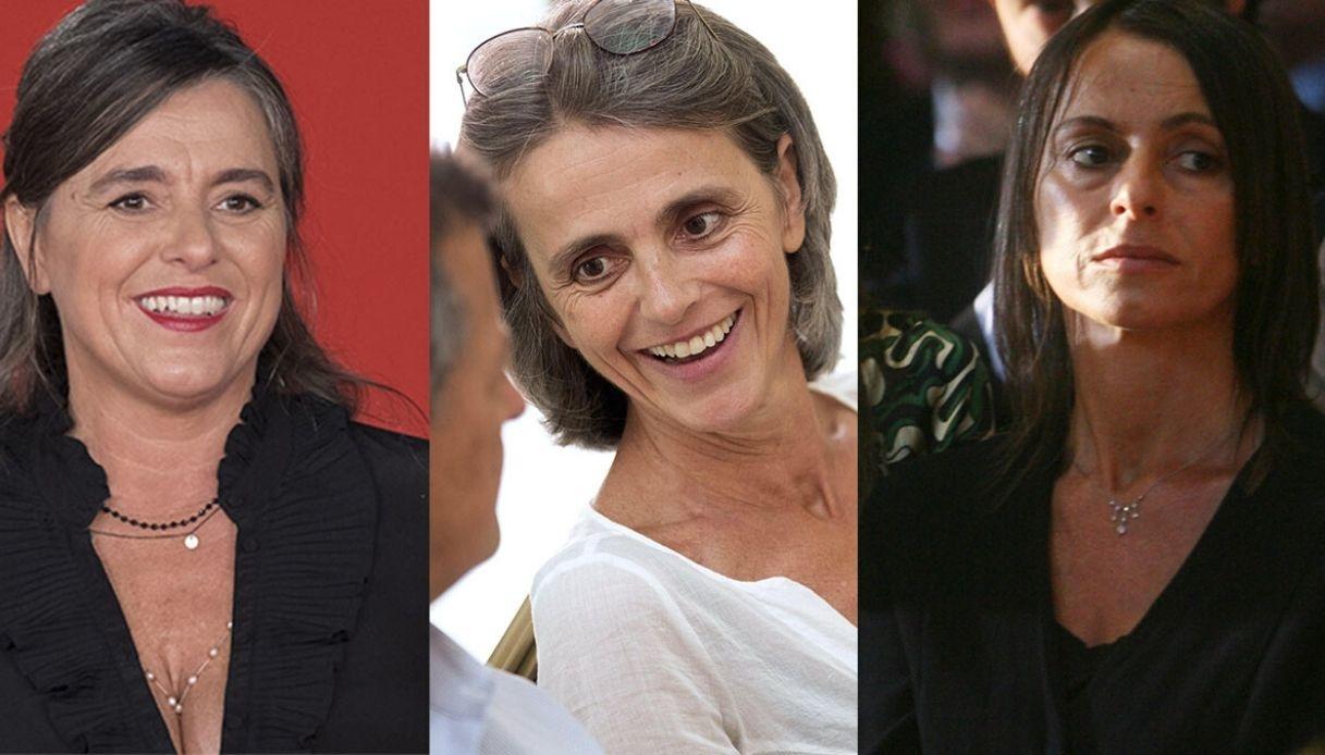 Giuliana, Cristina e Lorenza Pavarotti