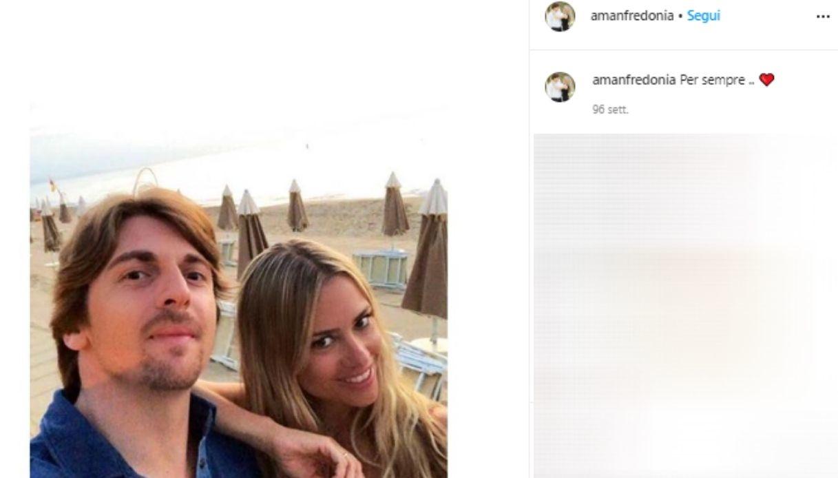 Andrea Manfredonia e Martina Stella